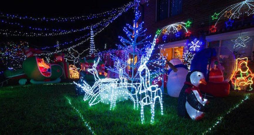 the history of christmas lights