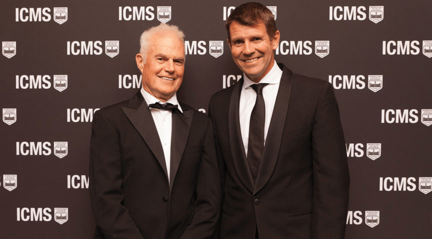 ICMS WELCOMES FORMER NSW PREMIER Mike Baird To The Team - Living